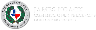 Montgomery County Precinct 3 - Commissioner James Noack